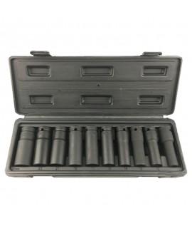 11件黑长气动套筒组