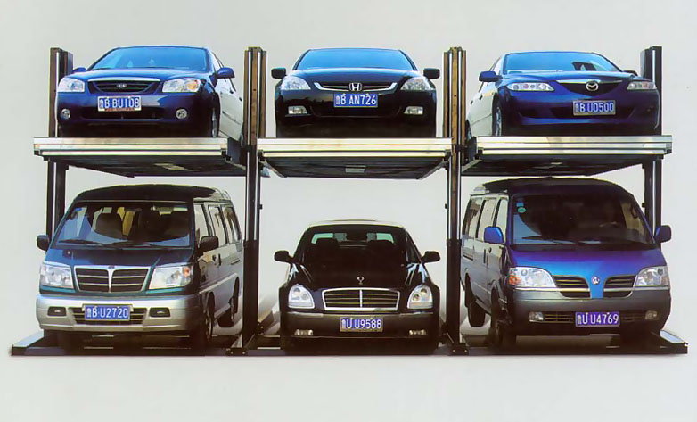 简易升降类两柱停车设备