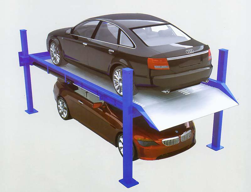 简易升降四柱停车设备