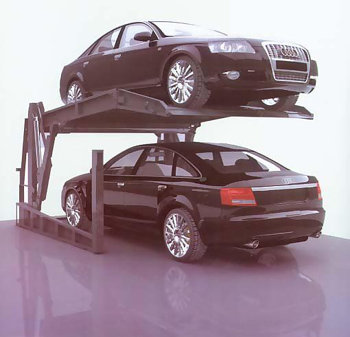 简易升降类倾斜式停车设备